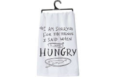 Primitives by Kathy I'M SORRY TOWEL