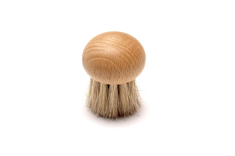 Redecker Round Mushroom Brush