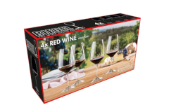 Riedel Red Wine Glasses, Set of 4