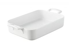 Belle Cuisine White Rectangular Bakers