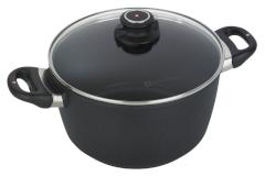Swiss Diamond XD Classic+ Nonstick 5.5 Quart Soup Pot with Lid