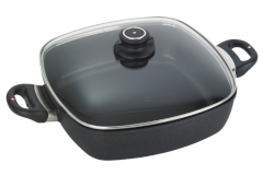 Swiss Diamond XD Classic+ Nonstick 5 Quart Square Casserole with Lid