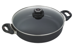 Swiss Diamond XD Classic+ Nonstick Sauteuse Pans With Lid