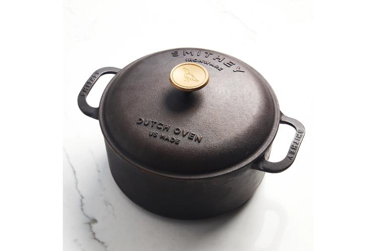 Smithey Cast Iron 5.5 Quart Dutch Oven