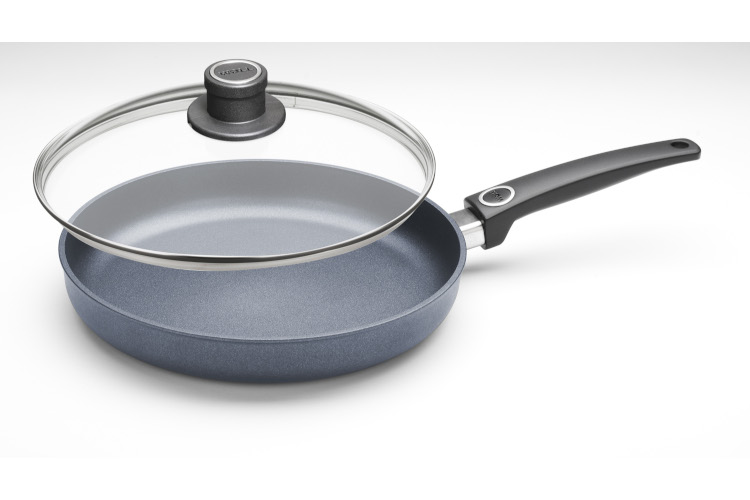 "Woll Diamond Plus Induction 11"" Nonstick Fry Pan with Lid"