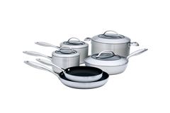 Scanpan CTX 10-Piece Stainless Steel Nonstick Cookware Set