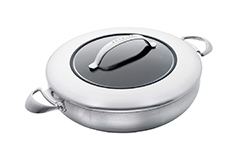 Scanpan CTX 5.5 Quart Nonstick Chef's Pan with Lid