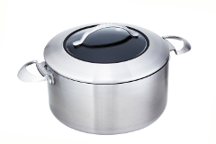Scanpan CTX 7.5 Quart Stainless Steel Nonstick Dutch Oven