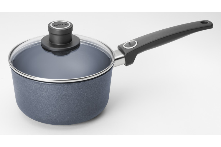 Woll Diamond Plus Induction 2.2 Quart Nonstick Sauce Pan With Lid