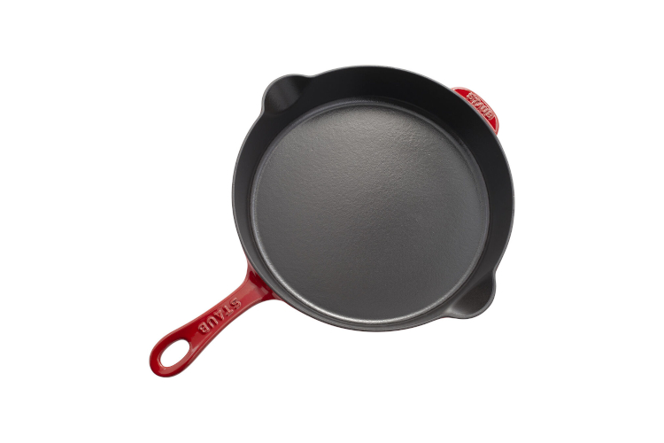 """Staub Cast Iron 11"""" Traditional Fry Pans"""