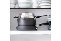 Greenpan Levels Hard Anodized 6-Piece Stackable Ceramic Nonstick Cookware Set