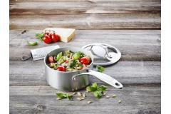 Greenpan Venice Pro Stainless Steel 1.5 Quart Ceramic Nonstick Sauce Pan w/Lid