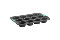 Trudeau Structured Silicone™ 12-Count Muffin Pan