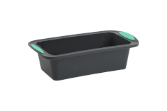 """Trudeau Structured Silicone™ 8"""" x 4"""" Loaf Pan - Mint"""