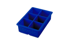 Tovolo King Cube Ice Tray Stratus Blue
