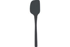 Tovolo Flex-Core All Silicone Spatula Grey