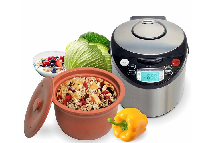 VitaClay Smart Organic Clay 4 Quart Multi-Cooker