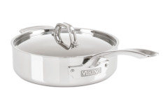 Viking 3-Ply Stainless Steel Saute Pans