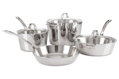 Viking Contemporary 3-Ply 7 Piece Cookware Set