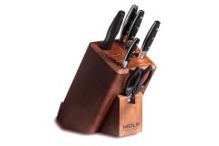 Wolf Gourmet 7-Piece Knife Block Set