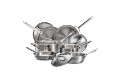 Wolf Gourmet Stainless 10-Piece Cookware Set
