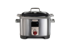 Wolf Gourmet 7 Quart Multi-Function Cooker Red Knob