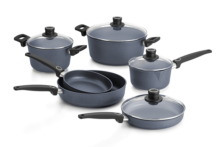 Woll Diamond Plus Induction 10 Piece Nonstick Cookware Set