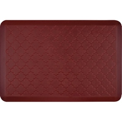 WellnessMats Estates Collection Shades of Red Anti-Fatigue Mats