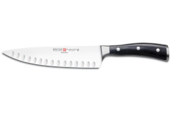 "Wusthof Classic Ikon 8"" Hollow Ground Chefs's Knife"