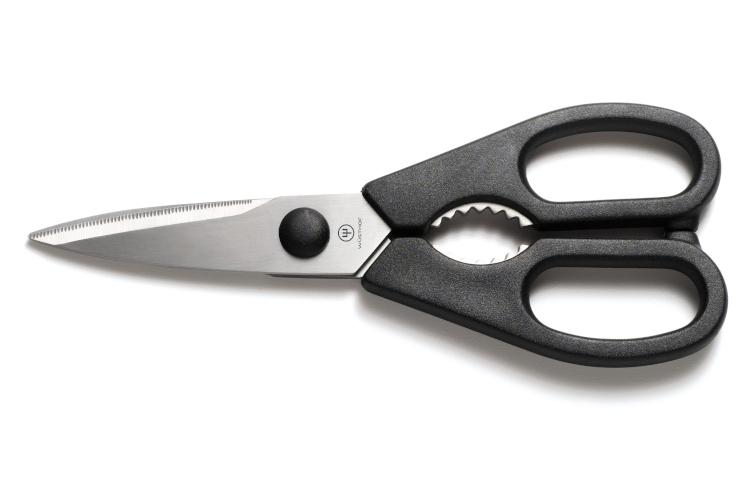 Wusthof Rebrand Come Apart Kitchen Shears Black