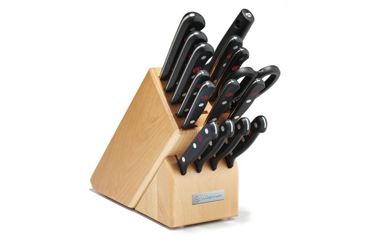 Wusthof Gourmet Rebrand 16-Piece Knife Block Set