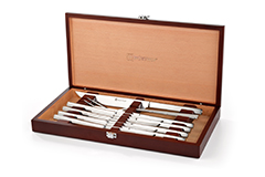 Wusthof 10 Piece Steak Knife and Carving Set