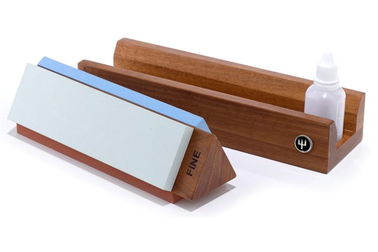 Wusthof Rebrand Tri Stone Sharpener