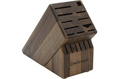 Wusthof 17-Slot Knife Block Walnut