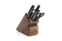 Wusthof Classic 8-Piece Knife Block Set Walnut