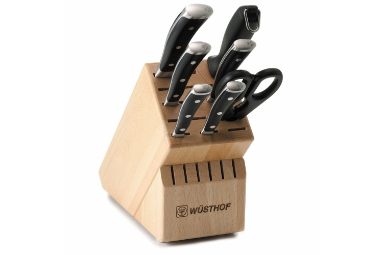 Wusthof Classic Ikon 8-Piece Knife Block Set