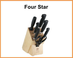ZWILLING 4 Star Knives