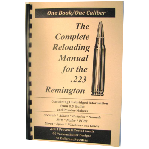 The Complete Reloading Manual for 223 Remington