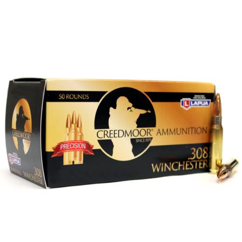 Creedmoor .308 175 Gr Ammunition In Lapua Brass