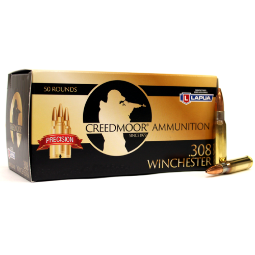 Creedmoor .308 167 Gr Scenar Ammunition In Lapua Brass