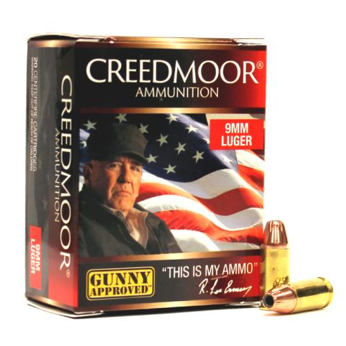 9mm Luger 115 Gr Xtp+p Creedmoor Pistol Ammo