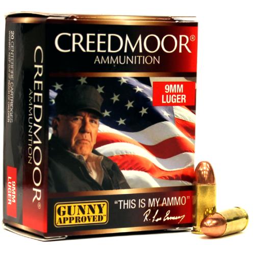 9mm Luger 147 Gr FMJ Creedmoor Pistol Ammo