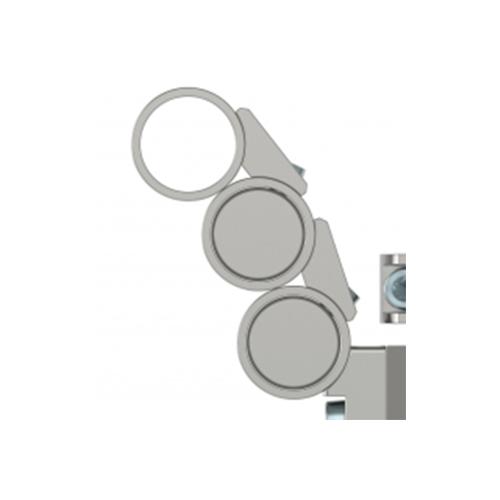 Anschutz Ring Set For One Butt Plate