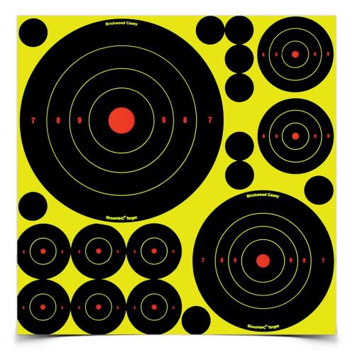 B/C Shoot-n-c Assortment (50 Tgts)