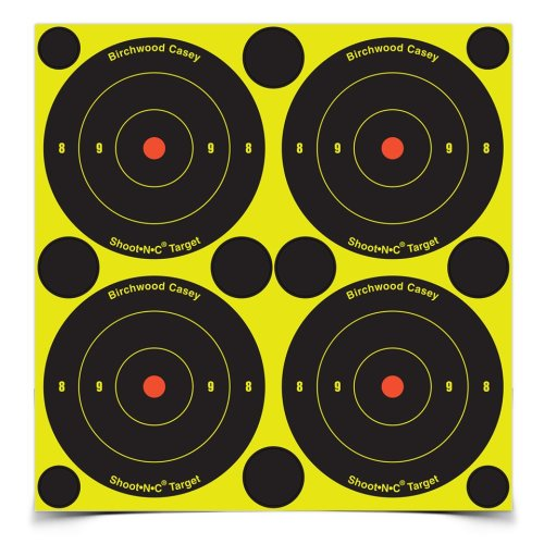 Shoot N C 3 Bull's-eye Target 12 Sheet