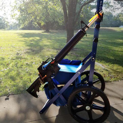 NEW Rifle Rack Mount For Creedmoor Range Cart