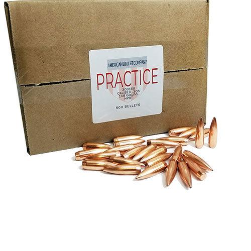American Practice .30 Cal 168 Gr HPBT Bullets (500 ct)