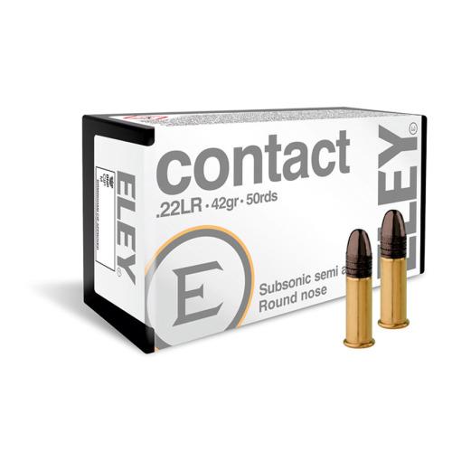 Eley 22 LR Contact Ammo