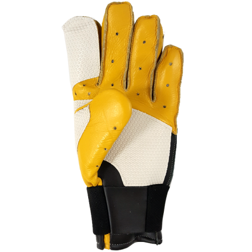 Clearance White/Yellow Full Finger Glove