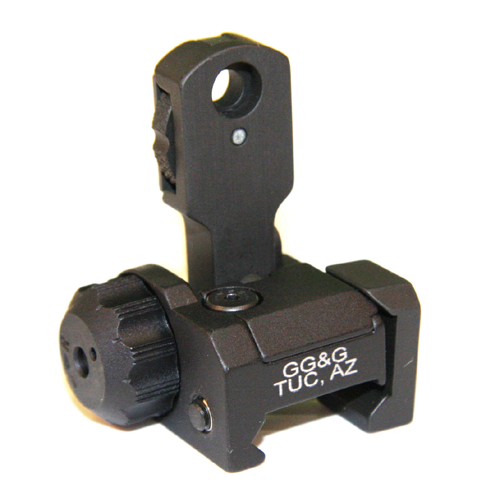 GG&G Mad Flip Up Rear Sight
